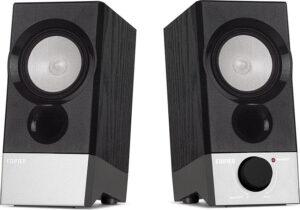 "BOXE EDIFIER 2.0, RMS: 4W (2 x 2W), USB power, black, ""R19U"" (include TV 1.5 lei)"
