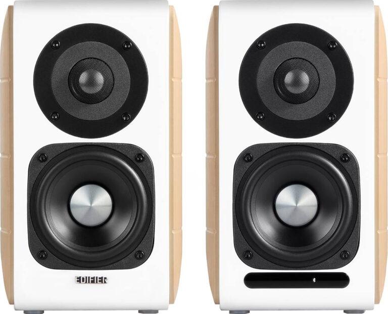 "BOXE EDIFIER 2.0, RMS: 88W (2 x 12W, 2 x 32W), bluetooth telecomanda wireless, volum, bass, treble, USB, optic, coaxial, certificare Hi-Res, 4 moduri: clasic, monitor, dinamic si vocal, white, ""S880DB"" (include TV 8 lei)"
