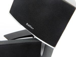 "BOXE EDIFIER 2.1, RMS: 28W (2 x 8W, 1 x 12W), telecomanda pe fir, Iesire casti; black; raport semnal-zgomot: #85dBA; frecventa raspuns – sateliti: 140Hz – 20kHz, subwoofer: 20Hz – 130kHz, black, ""M1380""- 392148 (include TV 8 lei)"