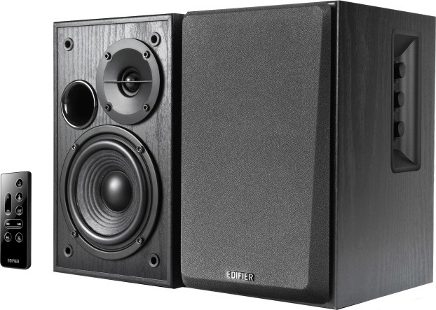 "BOXE EDIFIER 2.0, RMS: 42W (2 x 21W), bluetooth telecomanda wireless, volum, black, ""R1580MB"" (include TV 8 lei)"