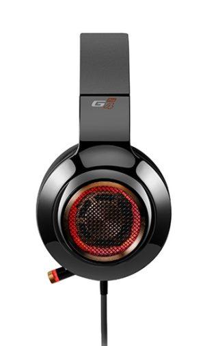 """CASTI EDIFIER cu fir, tip gaming, utilizare multimedia (PC and more), microfon pe casca, detasabil, negru, """"G4-PRO-BK"""" (include TV 0.75 lei)"""