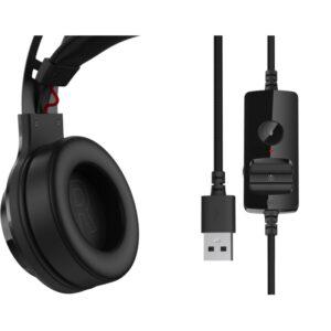 "CASTI EDIFIER cu fir, tip gaming, utilizare multimedia (PC and more), microfon pe casca, detasabil, negru, ""G4-TE-BK"" (include TV 0.75 lei)"