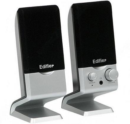 "BOXE EDIFIER 2.0, RMS: 1.2W (2 x 0.6W), control volum, USB power, silver, ""M1250-SL"" (include TV 0.75 lei)"