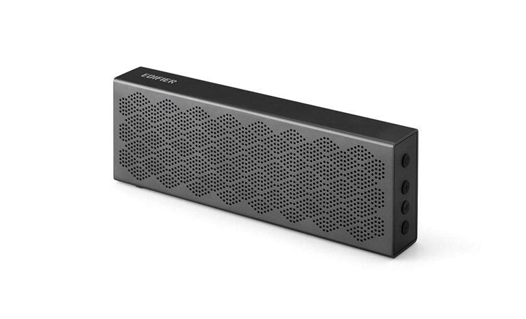 "BOXE EDIFIER portabile bluetooth, RMS: 8W (4W + 4W), Bluetooth 5.0, microSD, built-in Li-ion pana la 19h (2200mAh), iron-gray, ""MP120-IG"" (include TV 0.75 lei)"