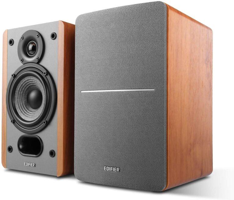 "BOXE EDIFIER 2.0 PASIVE, Rated RMS: 5W-20W, tweeter de 0.75″, bass de 4″, frecventa de raspuns 55Hz-20KHz, impedanta 6ohm, punct divizare frecv. 1500Hz, bracket spate montare perete, MDF, brown, ""P12-BR"" (include TV 8 lei)"