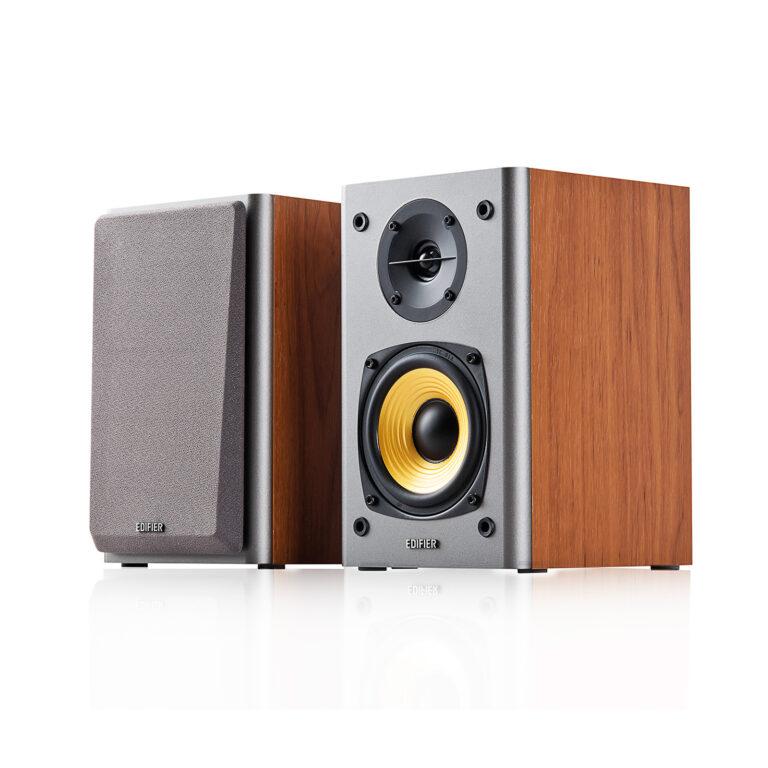 "BOXE EDIFIER 2.0, RMS: 24W (2 x 12W), volum, bass, 220V alimentare, brown ""R1000T4-BR"" (include TV 8 lei)"