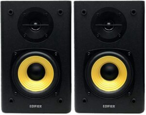 "BOXE EDIFIER 2.0, RMS: 24W (2 x 12W), volum, bass, 220V alimentare, black ""R1000T4-BK"" (include TV 8 lei)"