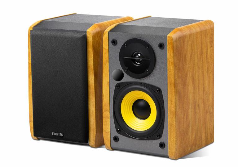 "BOXE EDIFIER 2.0, RMS: 24W (2 x 12W), bluetooth, volum, bass, 220V alimentare, brown ""R1010BT"" (include TV 8 lei)"