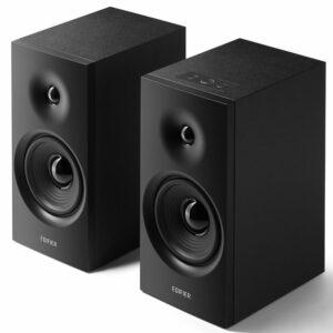 "BOXE EDIFIER 2.0, RMS: 24W (2 x 12W), volum, 220V alimentare, black ""R1080BT-BK"" (include TV 8 lei)"