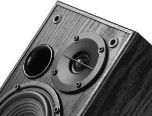 "BOXE EDIFIER 2.0, RMS: 42W (2 x 21W), volum, bass, black, ""R1100-BK"" (include TV 8 lei)"