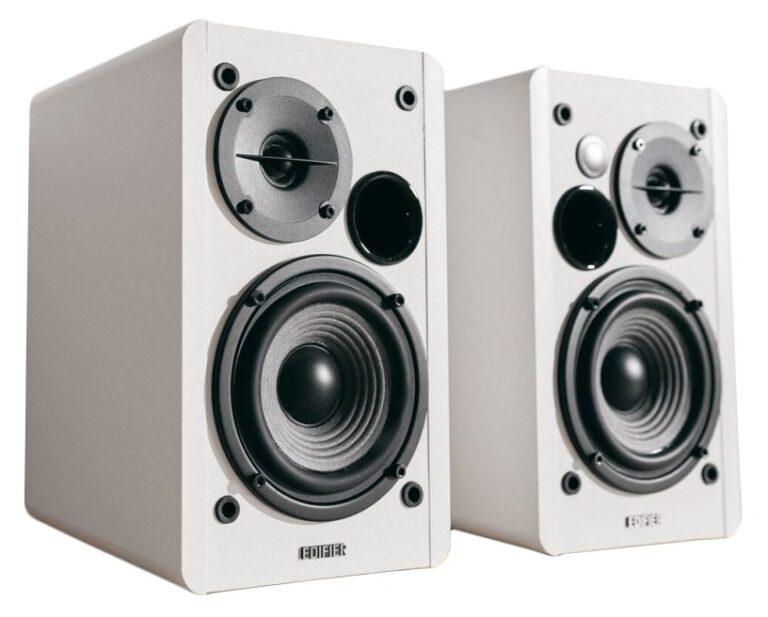 "BOXE EDIFIER 2.0, RMS: 42W (2 x 21W), telecomanda wireless, volum, bass, treble, white, ""R1280Tw"" (include TV 8 lei)"