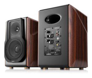 "BOXE EDIFIER 2.0, RMS: 256W (2 x 8W, 1 x 120W, 1 x 120W), bluetooth telecomanda wireless, volum, bass, treble, optical, coaxial, brown, USB, ""S3000PRO"" (include TV 8 lei)"
