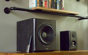"BOXE EDIFIER 2.1, RMS: 150W (2 x 25W, 2 x 15W, 1 x 70W), bluetooth telecomanda wireless, volum, bass, treble, optical, black, ""S351DB-BK"" (include TV 8 lei)"