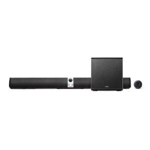 "BOXE EDIFIER soundbar, bluetooth 4.1, RMS: 158W (2 x 12W, 2 x 32W, 1 x 70W), woofer 8″, bass 2.75″, inalte 0.75″,frecv.raspuns 45Hz-20KHz, Line-in/AUX/optic/coax,telwireless,dim1130x110x137mm, brown, ""S70DB-BR"" (include TV 1.5 lei)"