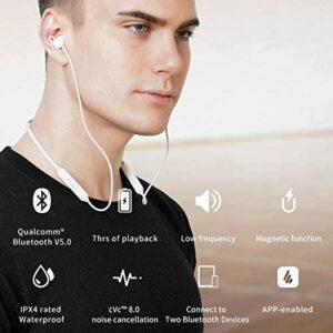 """CASTI EDIFIER wireless, tip intraauriculare cu fir de legatura, utilizare smartphone, microfon pe fir, negru, """"W200BT-BK"""" (include TV 0.15 lei)"""