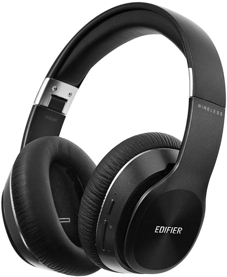 "CASTI EDIFIER wireless, cu fir, tip standard, utilizare multimedia (PC and more), smartphone, microfon pe casca, negru, ""W820BT-BK"" (include TV 0.75 lei)"