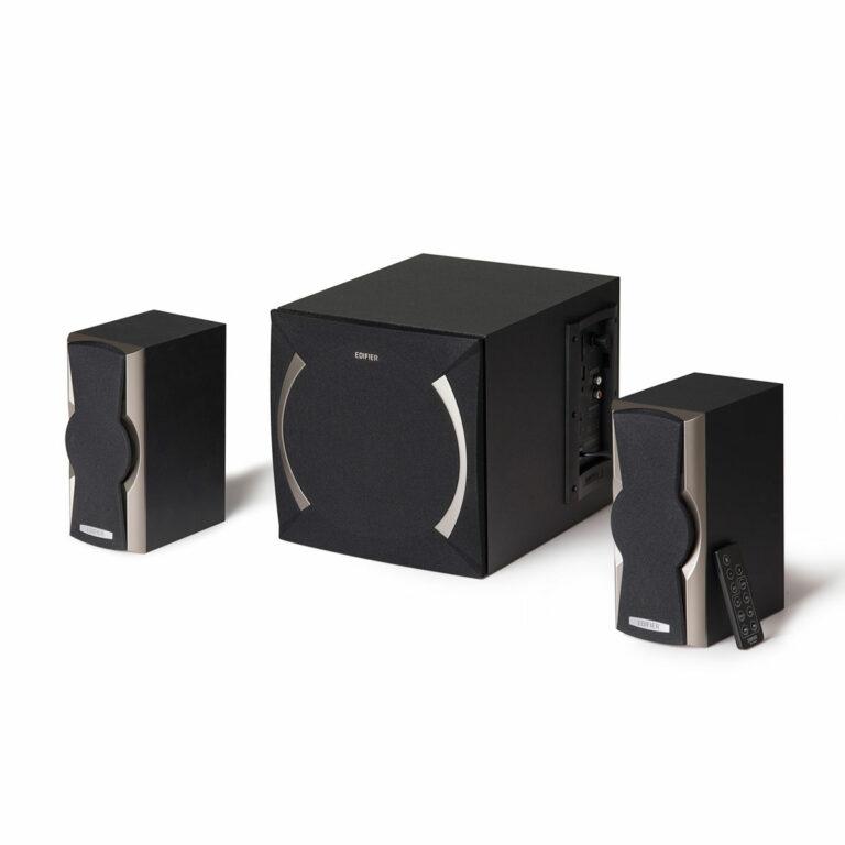 "BOXE EDIFIER 2.1, RMS: 48W (2 x 12W, 1 x 24W), volum, bass, black; raport semnal-zgomot: #85dBA, frecventa raspuns – sateliti: 210Hz – 20kHz, subwoofer: 20Hz – 120kHz, cu port USB/SD, FM tuner,black, ""XM6PF-BK"" (include TV 8 lei)"