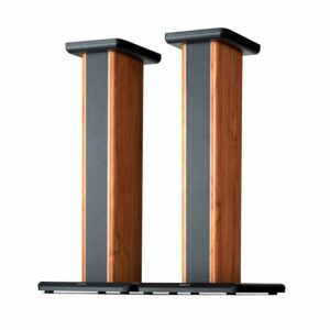 "STAND PENTRU BOXE EDIFIER, dedicat pentru S1000DB, S2000PRO, design elegant, max. 17.5Kg, 290x652x355mm, brown&black, ""SS02"""