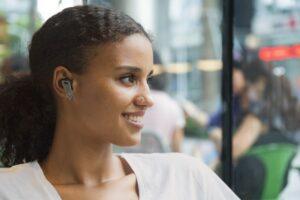 """CASTI EDIFIER wireless, tip intraauriculare – butoni, utilizare smartphone, microfon pe casca, negru / argintiu, """"TWSNB2-BK"""" (include TV 0.15 lei)"""