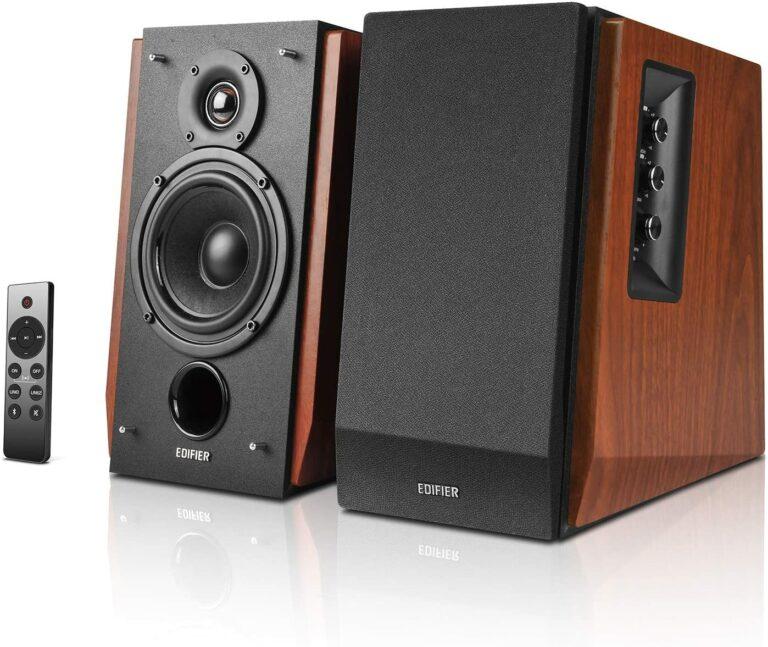 "BOXE EDIFIER 2.0, RMS: 66W (2 x 15W, 2 x 18W), bluetooth telecomanda wireless, volum, bass, treble, dual RCA, sub-out, brown, ""R1700BTS-BR"" (include TV 8 lei)"
